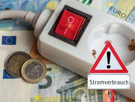 Warning sign power consumption