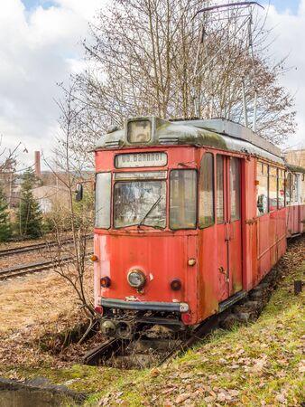 Old GDR tram