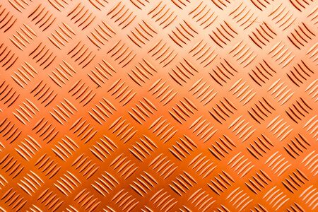 Orange Checker plate