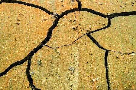 Dry Ground cracks Фото со стока