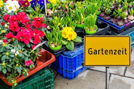 Gartenzeit deutsches Zeichen