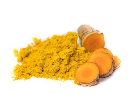 Spice Curcuma isolated