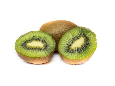 Kiwi Fruits Isolated Reklamní fotografie