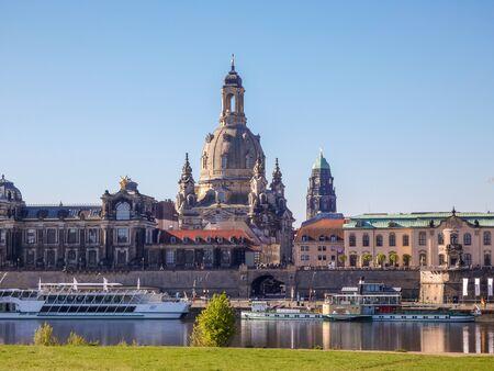 Skyline from Dresden in East Germany