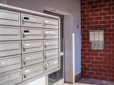 Social housing mailboxes