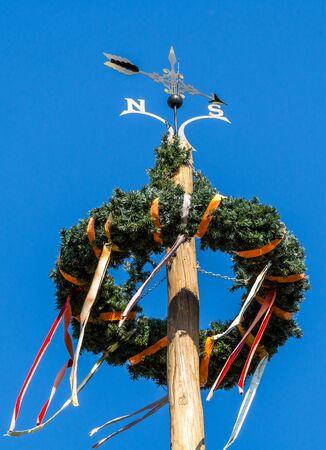 May Pole in Bavaria Germany