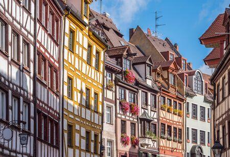 half-timbered house in Nuremberg Germany