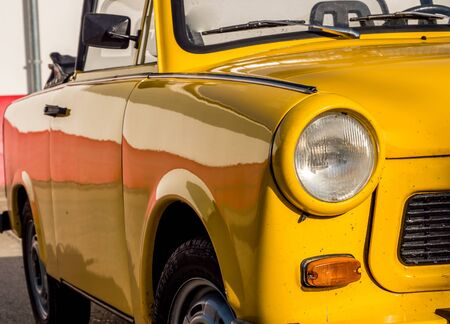 DDR oldtimer Trabant Stockfoto