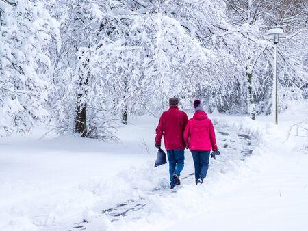 Caminar en invierno
