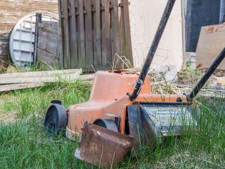 GDR vintage lawnmower time for new
