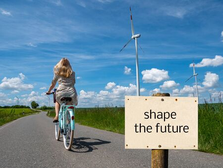 shape the future sign climate change