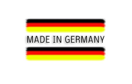 Made in Germany Logo 스톡 콘텐츠