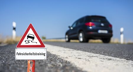 driving safety training in german