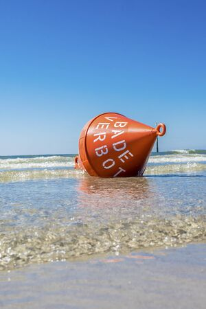 buoy on the sea