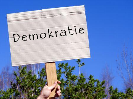 Shield democracy in german
