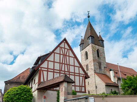 City church in Feucht near Nuremberg