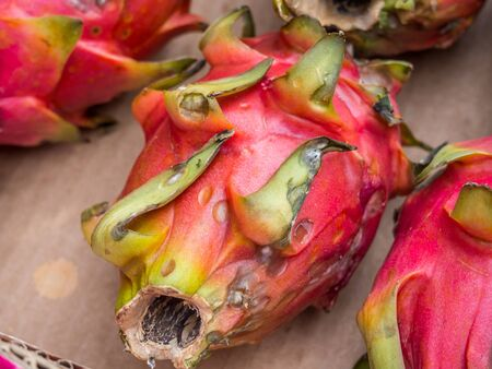 Pitaya in the market