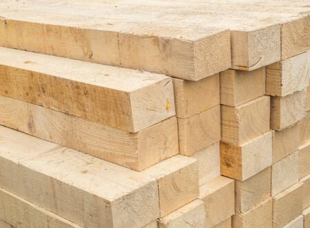 construction wooden materials Stock Photo