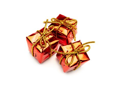 white Background gifts red Template