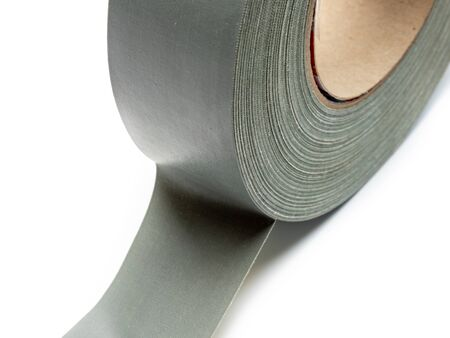 Duct tape roll isolated White Background