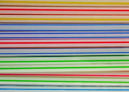 Colorful plastic straw background texture