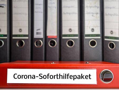 Corona emergency file package in german