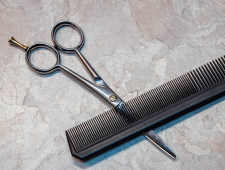 Tool in the hair salon craft