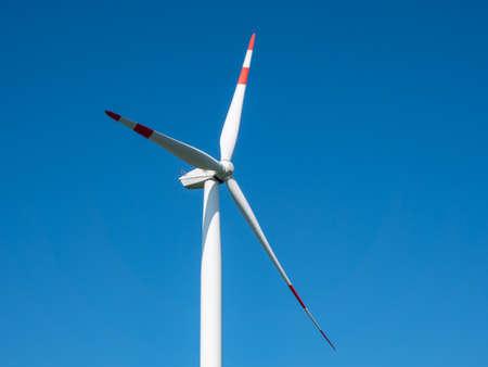 Energy Pinwheel Blue Sky Background Stock fotó