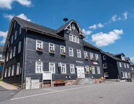 Masserberg town hall in the Thuringian Forest