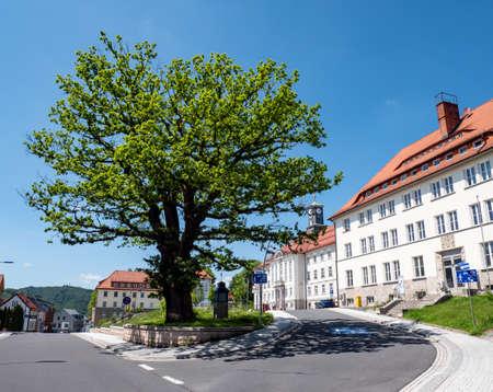 Zella-Mehlis town hall in Thuringia
