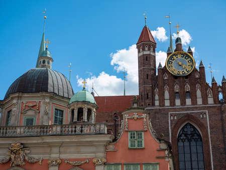 old cathedral in gdansk poland Banco de Imagens