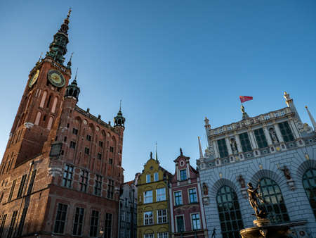 City from gdansk in poland