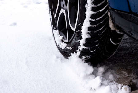Summer tires in winter risk of accident