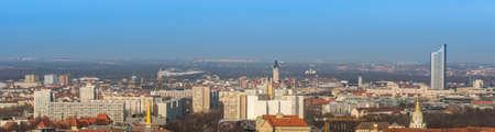Skyline from Leipzig in East Germany