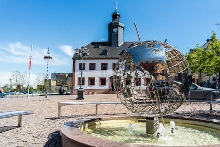 Old town of Meerane in Saxony