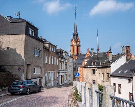 City of Mylau in Vogtland