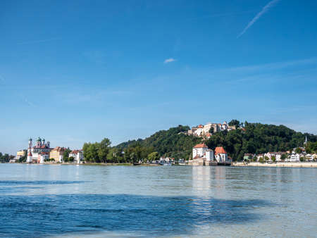 View of the city of Passau in Bavaria