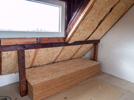 Expansion of an attic in a family home