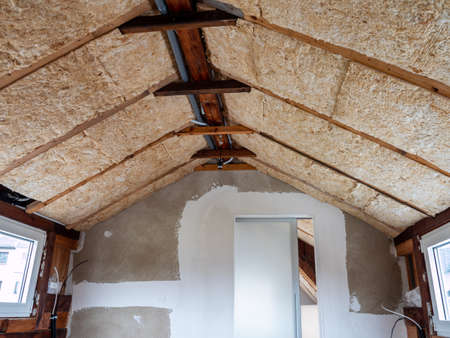 Expansion of an attic in the house
