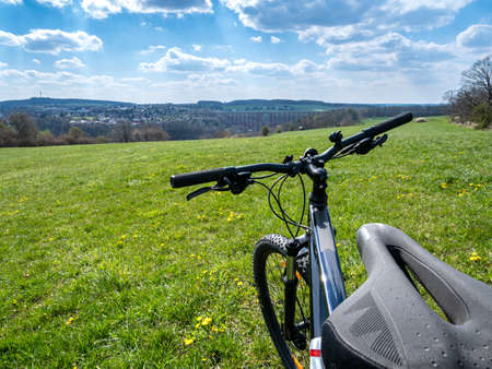 Excursion by bike in Vogtland