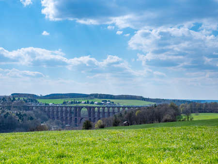 Goeltzschtalbrücke in Vogtland Saxony Germany