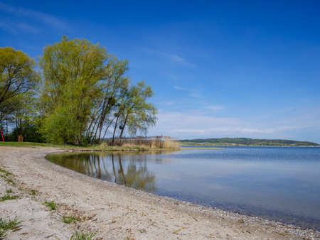 Kummerower See on the Mecklenburg Lake District