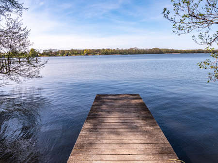 Jetty on the Mecklenburg Lake District