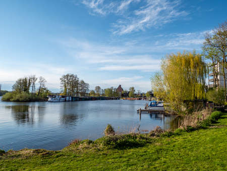 Lake on the Mecklenburg Lake District in Germany