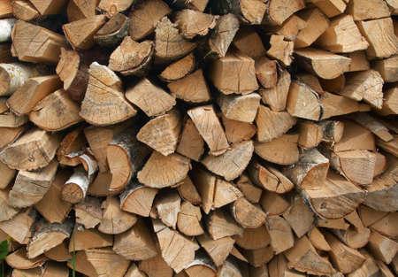 birchen: firewood