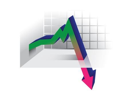 collapsing: Crisis graph arrow