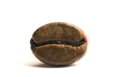 Coffee bean, close-up. Stock Photo