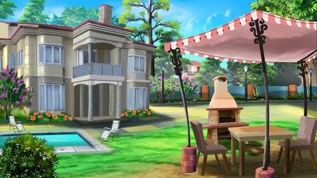 vacation home: Vacation home, private house, villa