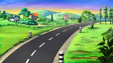 country road: country road