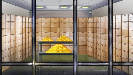bank vault: bank vault